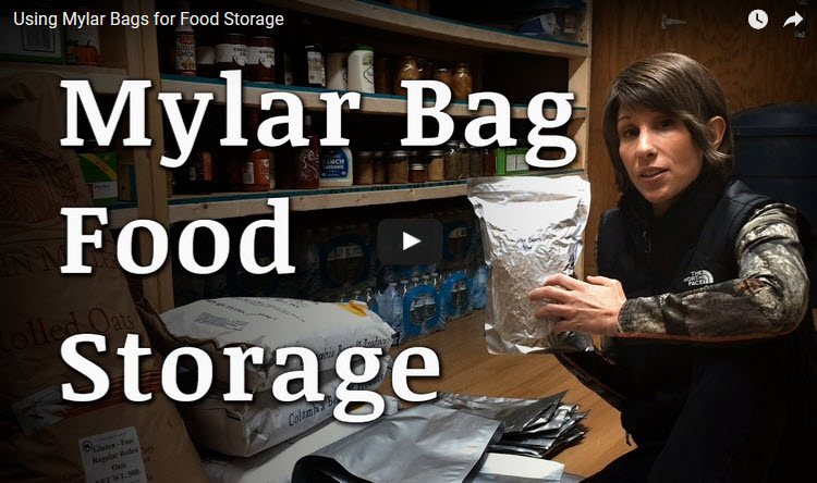 mylar bags food storage video